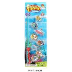 Большой пластмассовый набор Рыбалка