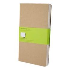 Записная книжка Moleskine Cahier (нелинованная) Large
