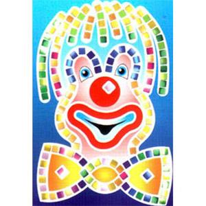 Волшебная мозаика «Клоун»