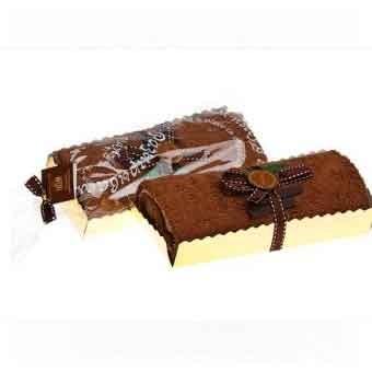 Полотенце для гурманов Рулет шоколадный с ванилью