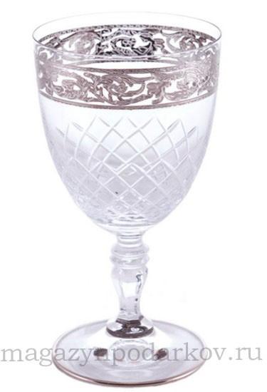 Набор из 6 бокалов для вина 250 мл Cre Art Глория