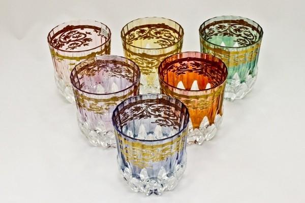Набор стаканов для виски 280 мл Cre Art Королева