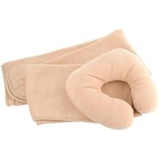 Набор для путешествий: плед и подушка в чехле
