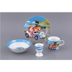 Детский набор посуды «Гонщики»