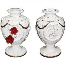 Ваза Красные розы от Ceramiche Ferraro
