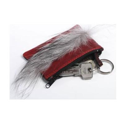Карманная ключница Красное-черное
