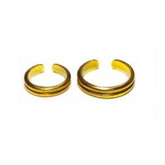 Позолоченные фаланговые кольца Рок'н'ролл вдвоем