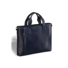 Деловая синяя сумка Brialdi Mestre