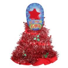Карнавальная шляпа Sima-land Елочка