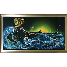 Хрустальная картина «Морская симфония»