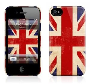 Чехол для iPhone 4/4S Gelaskins Union Jack