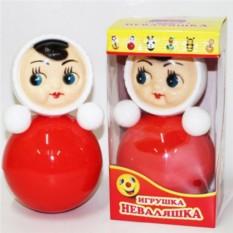 Пластмассовая игрушка Неваляшка