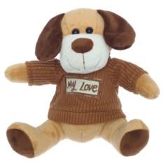 Мягконабивная игрушка Собака My love