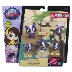 Игровой набор Hasbro Littlest Pet Shop Большая семейка