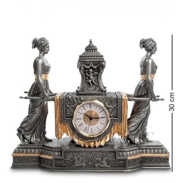 Часы в стиле барокко Уходящее время