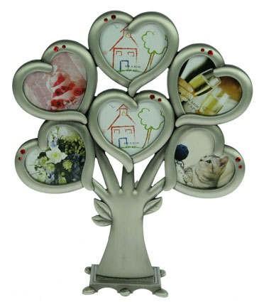 Фоторамка-дерево Сердечки