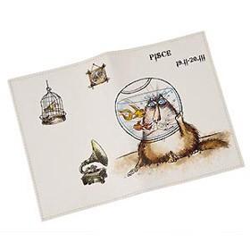 Обложка для паспорта рыбы