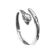 Кольцо-тотем Обезьяна, серебро 925 пробы