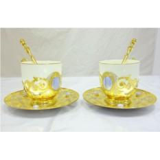 Чайный набор на 2 персоны «Небо»