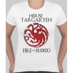 Женская футболка House targar yen