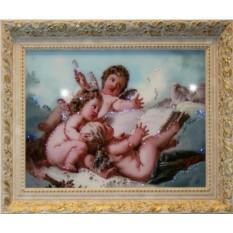Картина Swarovski Небесные ангелы
