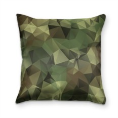 Подушка с 3D принтом Камуфляж