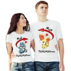 Парные футболки с покемонами