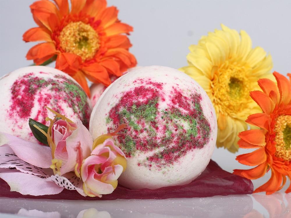 Бурлящие шарики для ванн с пеной Эскада