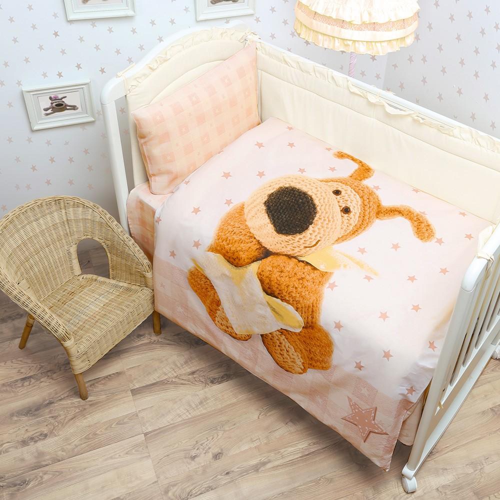 Ясельный комплект постельного белья Boofle малыш