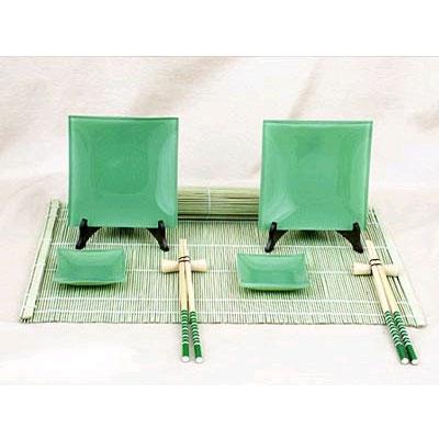 Набор для суши «Зелёный перламутр»