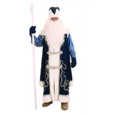 Синий костюм Дед Мороз в рубахе