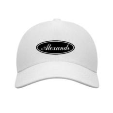 Белая бейсболка Alexandr