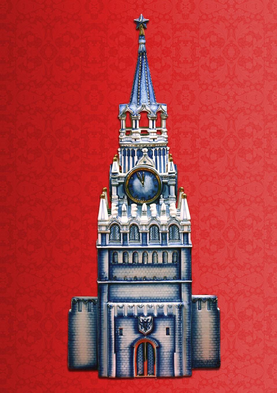 Штоф для напитков Спасская башня