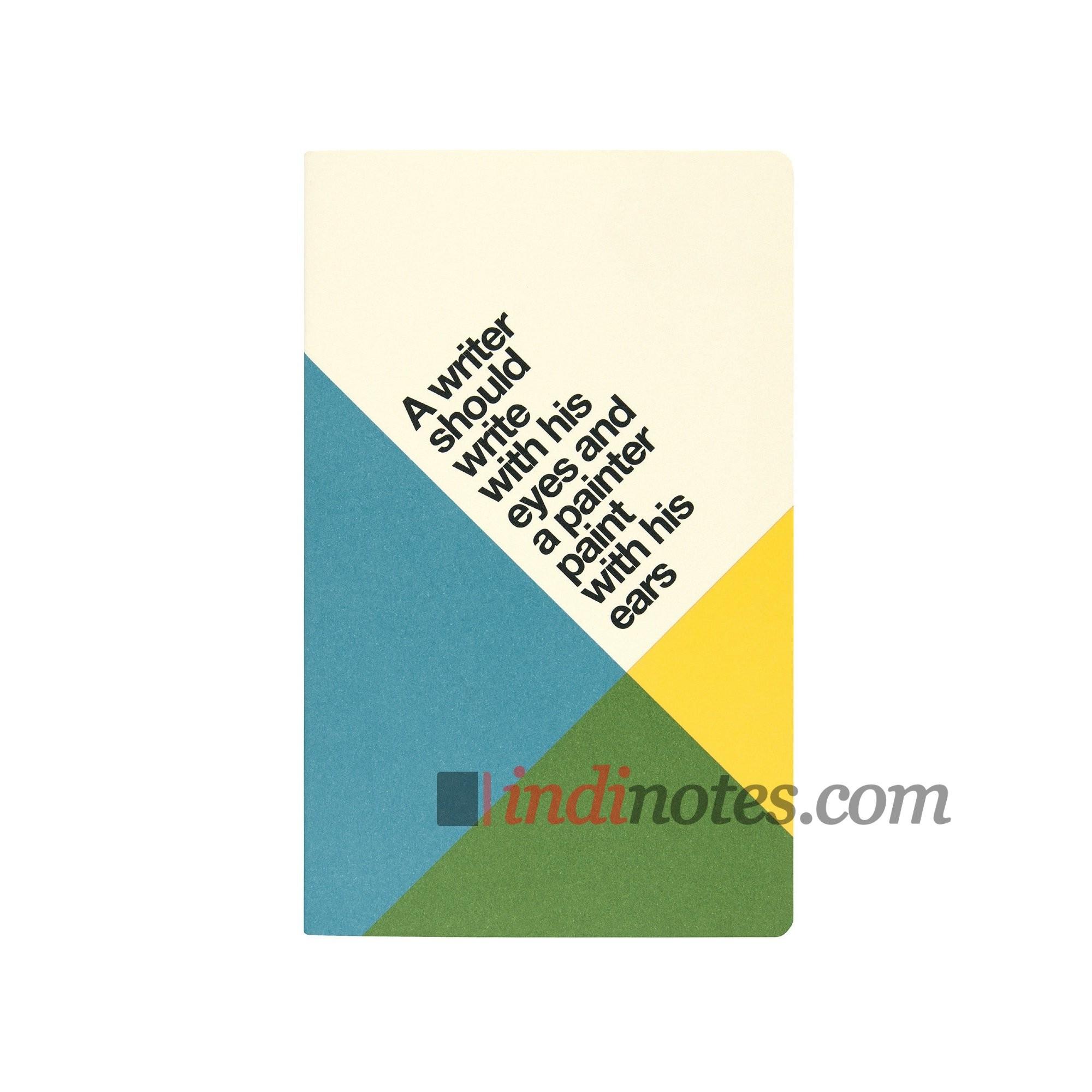 Записная книжка из каменной бумаги Ogami Quotes