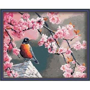 Картина по номерам Цветущая вишня