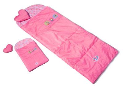 Спальные мешки для девочки и для куклы Baby Born