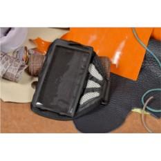 Универсальный серый cпортивный чехол на руку для телефона