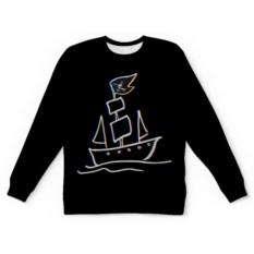 Свитшот с полной запечаткой Pirat's ship