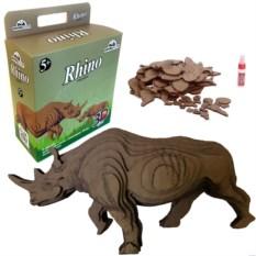 3D-пазл «Носорог»