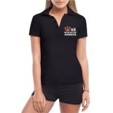 Женская футболка Polo Ее Величество Анжела