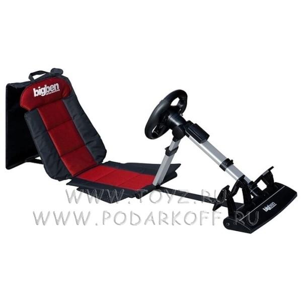 Гоночное кресло (сиденье+руль+педали)