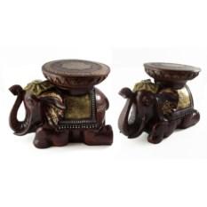 Напольная статуэтка-подставка Слон