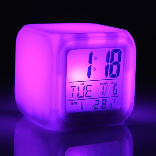 Будильник-антистресс «Световой Куб»
