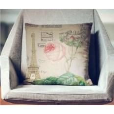 Декоративная наволочка Винтаж: Цветущая роза