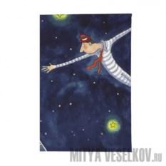 Визитница Акробаты в воздухе