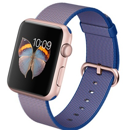 Apple Watch Sport 42mm with Woven Nylon (цвет Royal Blue)