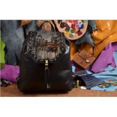 Женский рюкзак с принтом Дождливый город