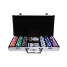 Набор для игры в покер на 300 фишек