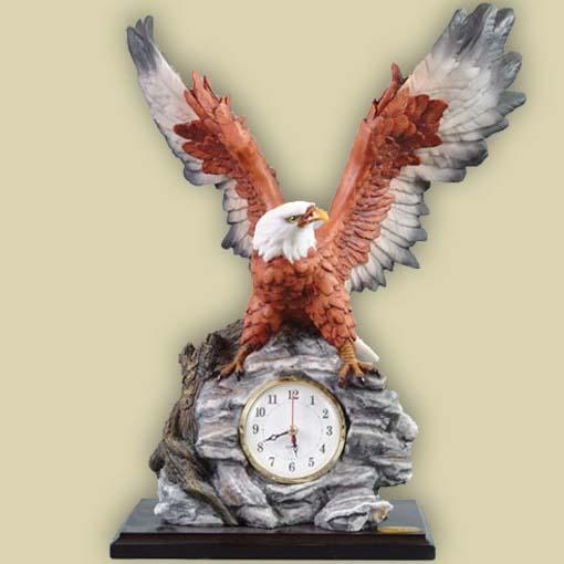 Орел с часами
