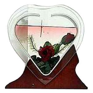 Свеча гелевая в вазе